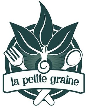 logo du restaurant végétalien la petite graine à Limoges