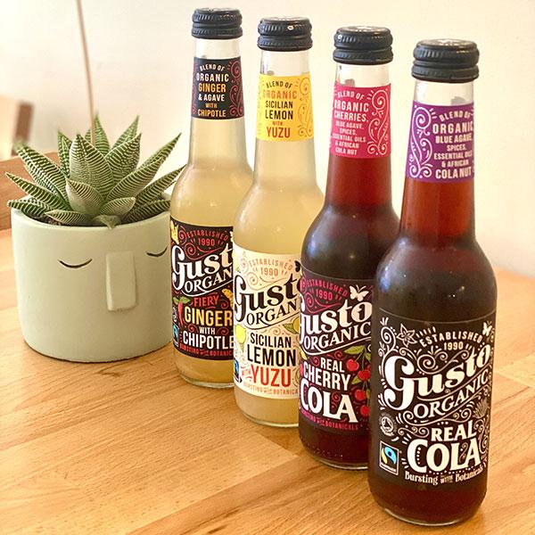 Gusto Bio, cola, yuzu et gin